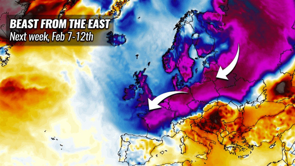 snow cold forecast europe