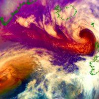 north atlantic nao index storm