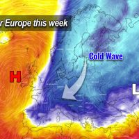 pattern change europe cold wave snow winter