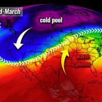 united states pattern change severe weather warm wave