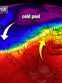 united states pattern change severe weather warm wave