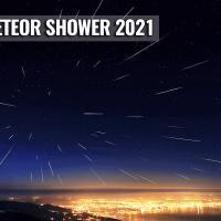 lyrid meteor shower cloud forecast 2021