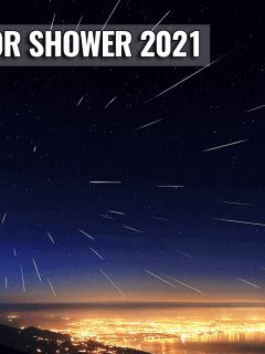 lyrid meteor shower cloud forecast 2021