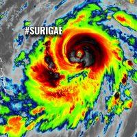 surigae typhoon tropical cyclone pacific philippines