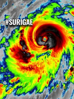 surigae typhoon tropical cyclone pacific philippines