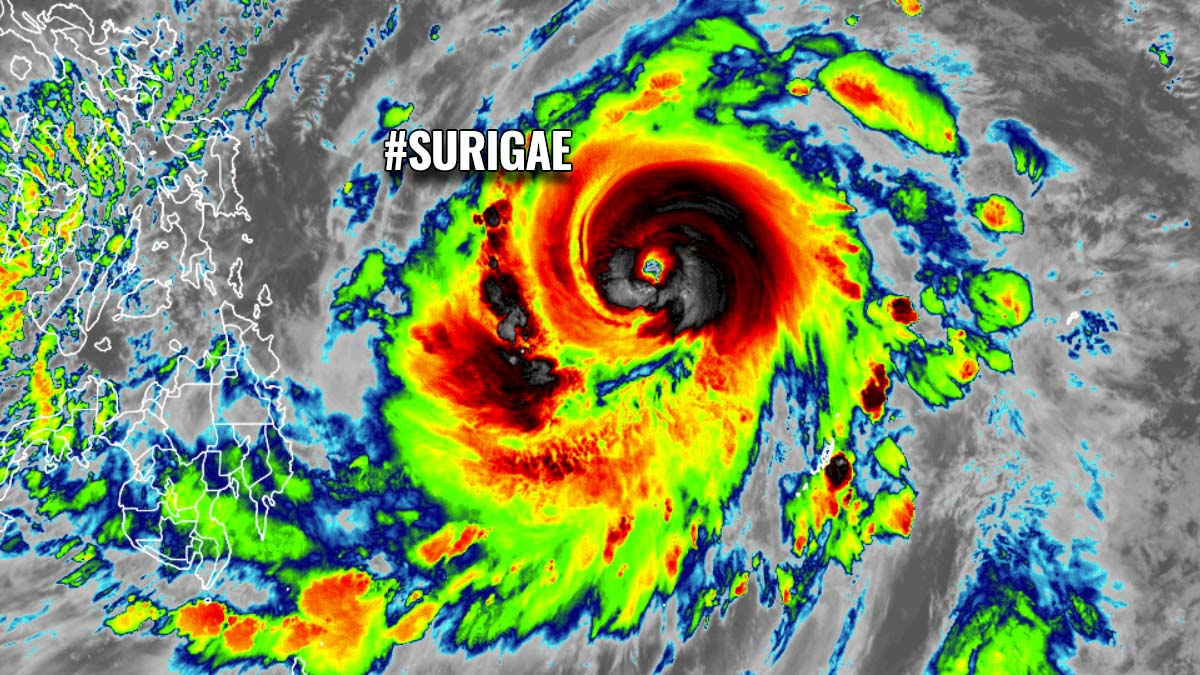 surigae typhoon tropical cyclone pacific philippines featured