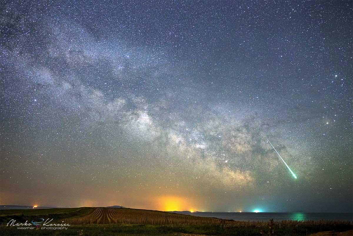 Eta Aquariid meteor shower forecast lyrid