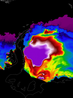 antarctica largest iceberg in the world a76 break off event