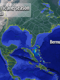 atlantic hurricane season 2021 storm ana bermuda