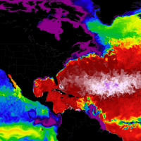 atlantic ocean spring warming weather seasonal connection