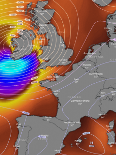 north atlantic storm windstorm ireland