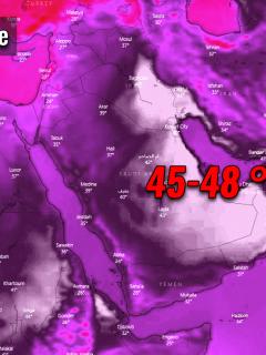 record breaking heatwave russia middle east arabian peninsula