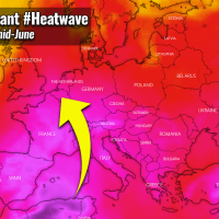 first significant heatwave 2021 europe