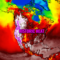 heat dome record breaking heatwave pacific northwest canada united states