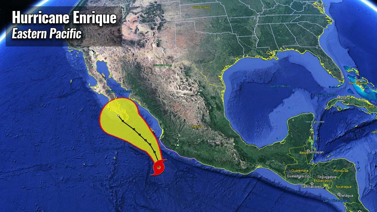 hurricane season 2021 enrique mexico baja peninsula