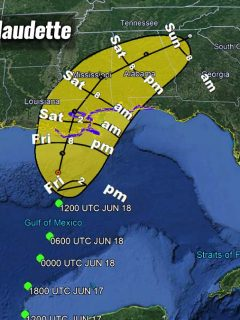 hurricane season 2021 gulf storm claudette