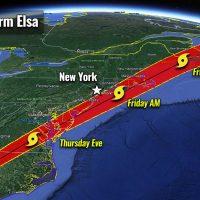 atlantic hurricane season 2021 tropical storm elsa east coast