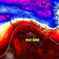 heatwave united states heat dome forecast