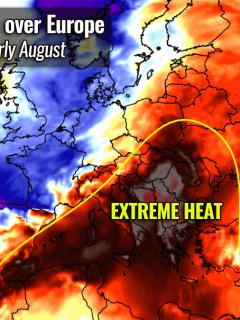 most intense heatwave summer 2021 forecast