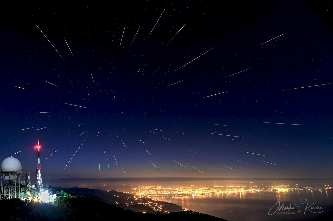 perseid meteor shower 2021 perseids composite