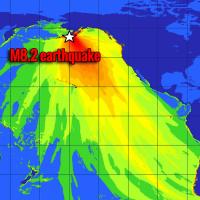 powerful earthquake alaska tsunami