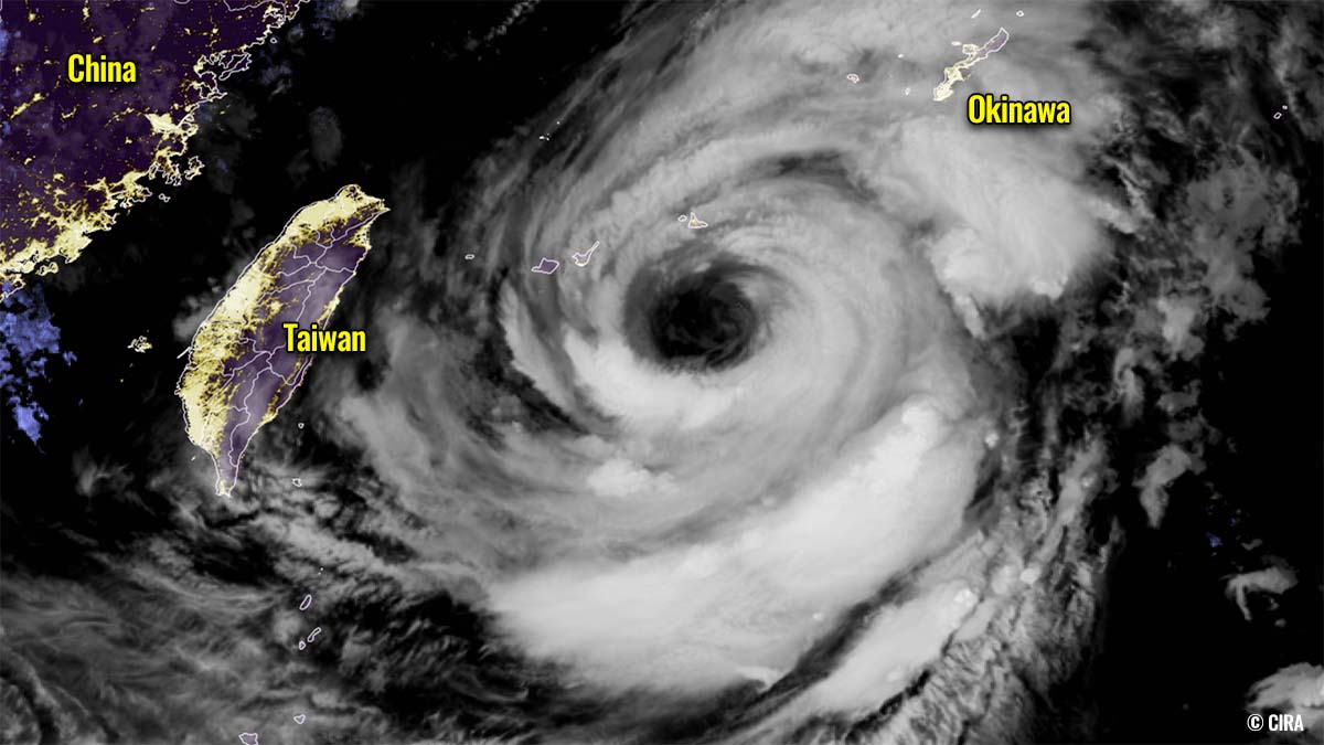 typhoon in fa china japan olympic games geocolor satellite