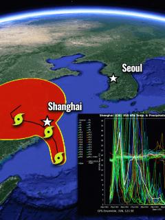 typhoon in fa shanghai catastrophic floods china nepartak japan