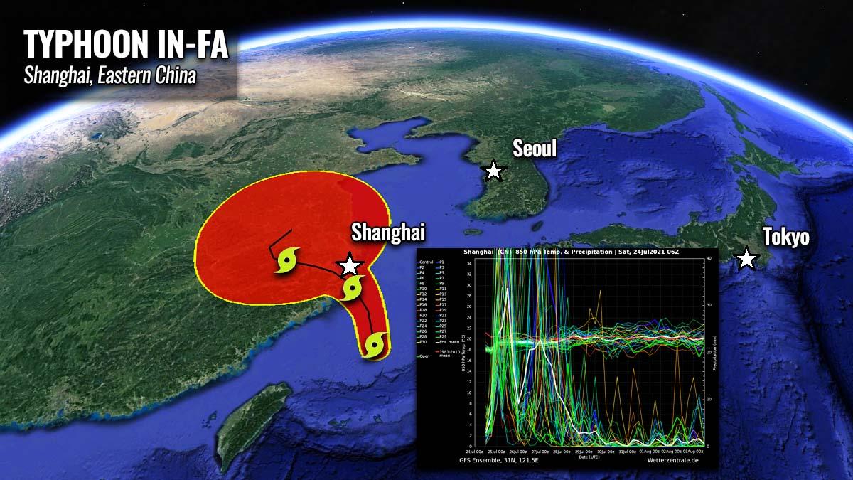 typhoon in fa shanghai catastrophic floods china nepartak japan flooding threat