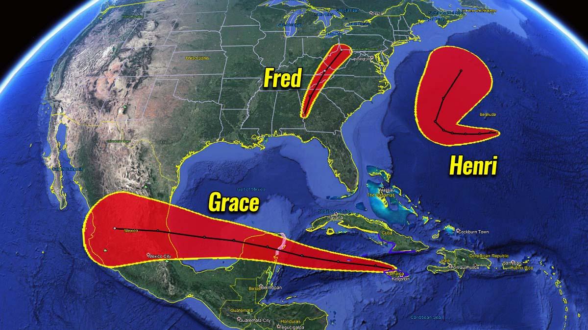 active atlantic hurricane season 2021 grace gulf coast yucatan