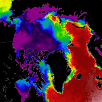 arctic ocean sea ice melt season 2021