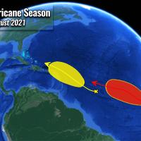 atlantic hurricane season forecast mjo wave storm fred
