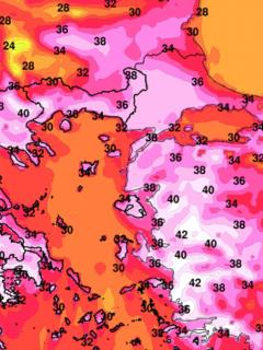 heat dome heatwave greece extreme wildfire threat
