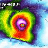 tropical like cyclone medicane alike black sea impact