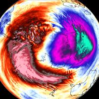 winter weather polar vortex south hemisphere stratospheric warming event