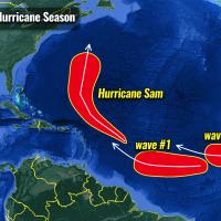 atlantic hurricane season 2021 sam bermuda canada