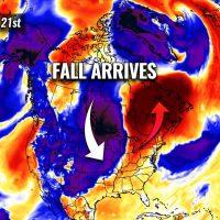 cold forecast fall season 2021 start united states