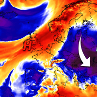 powerful arctic cold outbreak eastern europe