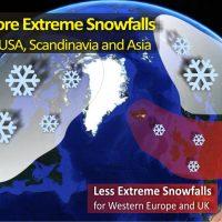 increasing extreme snowfall future winter forecast