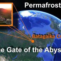 siberia thawing permafrost batagaika crater