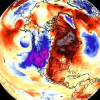 october weather forecast north america usa high pressure cold