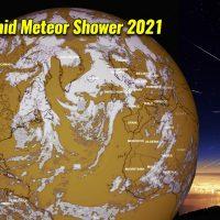 orionid meteor shower 2021 forecast